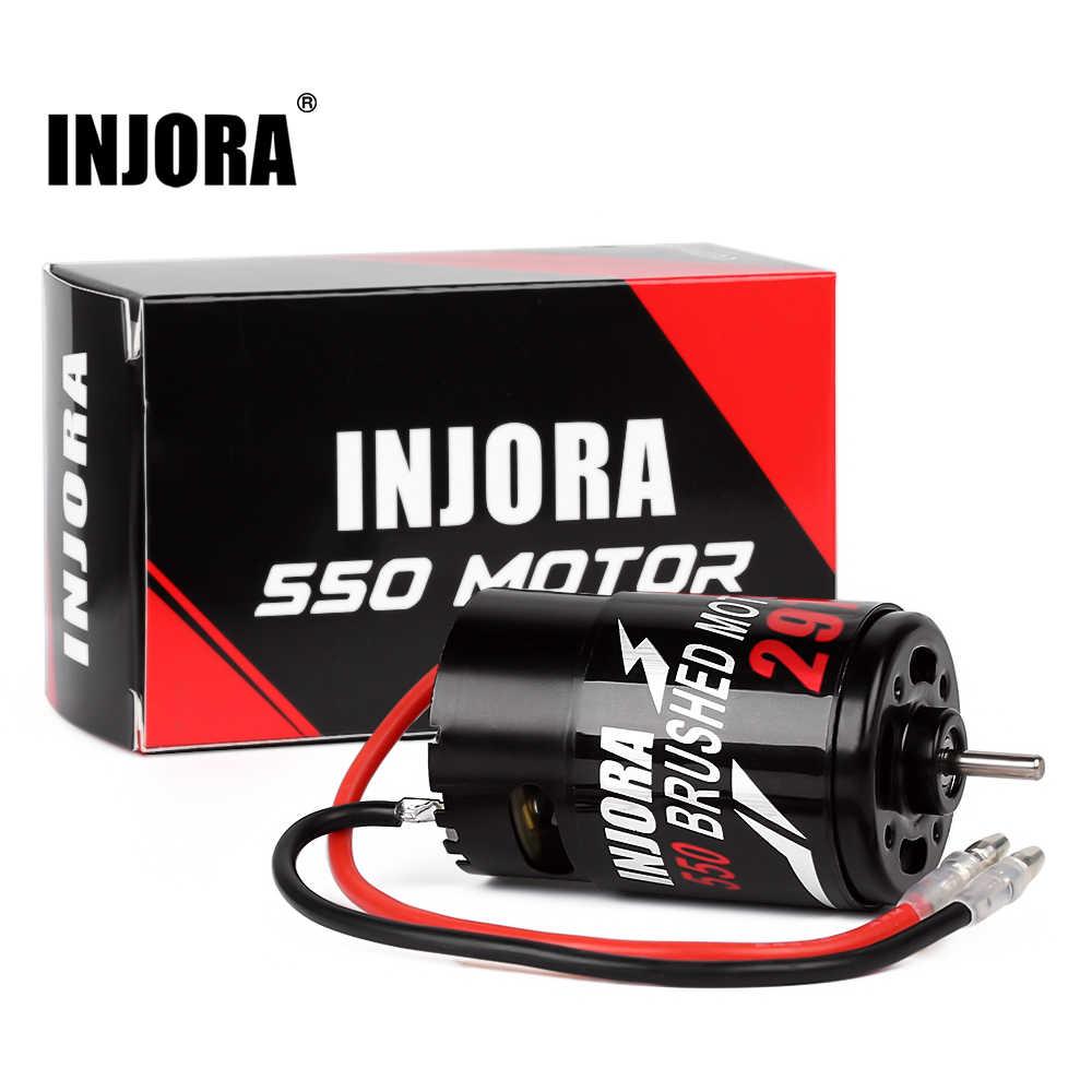 INJORA 550 Gebürstet Motor 12T 21T 29T 35T für 1:10 RC Crawler Axial SCX10 AXI03007 JL 90046 Traxxas TRX4 TRX6 RC Auto Boot Teile