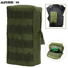 Airsson Airsoft Спортивная Военная 600D MOLLE сумка тактическая хозяйственная сумка жилет EDC гаджет охотничий поясной пакет уличное снаряжение