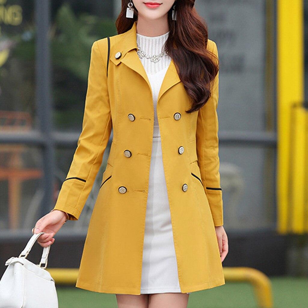 Women office formal Warm Coat