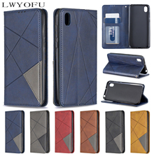 цена на Retro PU leather flip wallet cover for Huawei P20 Lite P Smart 2019 P30 Pro P30 Lite Y5 Y6 Y7 2019 PSMART Z phone case
