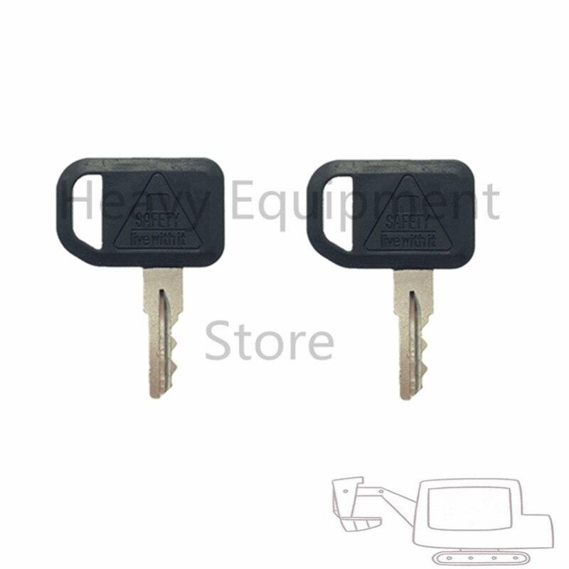 2PC JDG Key  for John Deere Gator  Bobcat   Gehl Multiquip Ignition   Part Number 131841 AM101600  AM131841|Car Key| |  - title=