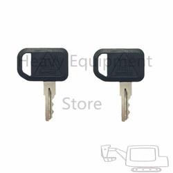 2PC JDG klucz do John Deere gator-side-by-side Bobcat silnik Gehl Multiquip zapłonu numer części 131841 AM101600 AM131841