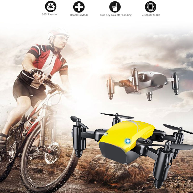 cheapest S9 mini quadcopter folding drone Electric Intelligent variable Unmanned Aerial Vehicle Aerial Photography Aircraft Kid Gift