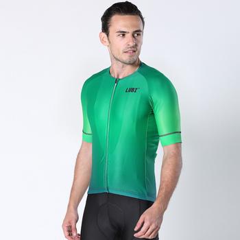 LUBI 2020 mężczyźni letnia koszulka kolarska Pro Team Mountain odzież rowerowa wyścigi MTB ubrania do jazdy rowerem koszula odzież rowerowa jednolita tanie i dobre opinie Poliester spandex Krótki B107 Lato Wiosna Koszulki Zamek na całej długości Jazda na rowerze Pasuje prawda na wymiar weź swój normalny rozmiar