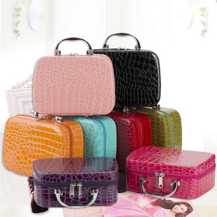 Купить женская многофункциональная сумка для косметики женский портативный