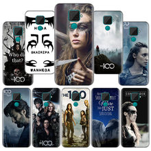 Heda Lexa The 100 TV Show Pattern Silicone Case Capa for Huawei P Smart Plus 2019 P Smart Z Nova 5 5i Pro Y9 Y7 Y6 Y5 2019 2018(China)