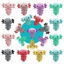 Kawaii Axolotl Plush Toy Axolotl Toy Axolotl Fish Axolotl Plushies Figure Doll Kawaii Animal Axolotl Stuffed Dolls Gifts 20cm