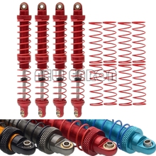 NEW ENRON 2P/4P Oil Adjustable Metal Shock Absorber Damper 70/80/90/100/110/120MM for 1/10 RC Car Truck Crawler Axial SCX10