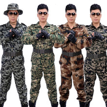 ACU Jacket Tactical Clothing Military Special Forces Camouflage Disguise Jungle&desert Uniform Men Costumes for Women Clothes(China)