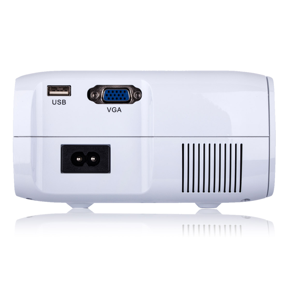 Multimedia 4K 1080P WiFi Android Bluetooth 3D LED Projector Home Cinema Supports Horizontal and Vertical Flip - 2