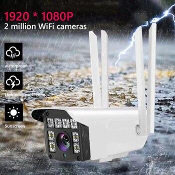 Surveillance 1080P Camera Security Camera Monitor Wireless Baby IP-CameraTwo Way Audio IR-Cut Night Vision CCTV WiFi Camera цена 2017