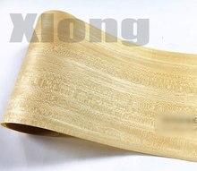 2Pieces/Lot Length:2.5Meter Width:15cm Thickness:0.25mm Solid Wood Veneer Loudspeaker Kin
