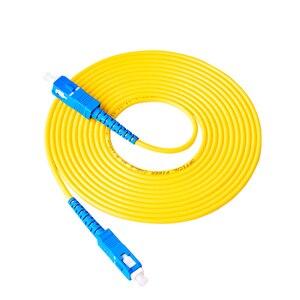 Image 3 - 10 шт. пакет SC UPC Simplex, оптоволоконный коммутационный шнур SC UPC 3,0 мм, оптоволоконный джемпер