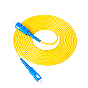 Image 3 - 10PCS/bag SC UPC Simplex mode fiber optic patch cord SC UPC 3.0mm fiber optic jumper