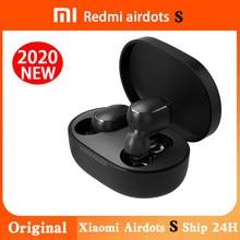 Orijinal Xiaomi Airdots S Tws Redmi Airdots Pro 2 kulakiçi kablosuz kulaklık Bluetooth 5.0 oyun kulaklığı Mic ses kontrolü ile