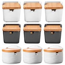 Yaratıcı avrupa seramik kapak baharat kavanoz cruet tuz mutfak malzemeleri baharat kutusu baharat pot