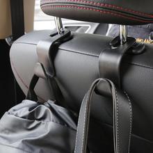 Gancho de assento de carro suv, 2 peças, rolamento de 20kg, gancho de assento traseiro, cabide de encosto de cabeça, ganchos de armazenamento para bolsa de merceiros produtos automotivos