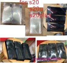 100 個プラスチックシールオリジナル工場新しい電話サムスン S20 S20ultra S20plus S20 +