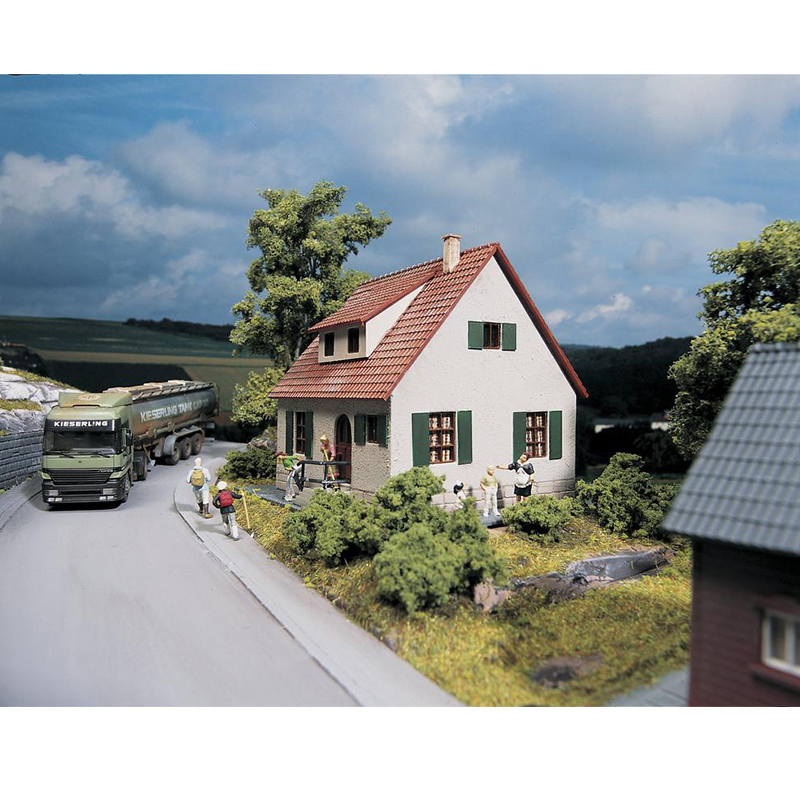 HO ratio  1:87  Germany  Train model building  61826 dwellings  Sand table building model  ABS  Assemble