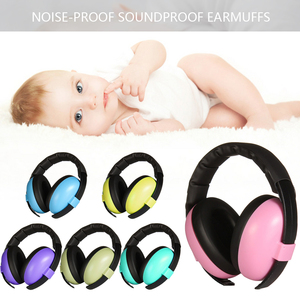 Baby Children Sleep Ear Defenders Noise Proof Earmuffs Baby Boys Girls Anti-Noise Durable Headphone