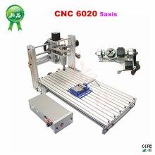 DIY Cnc 6020มิลลิ่งเครื่องพอร์ตUsb 4แกน5แกนRouterสำหรับงานไม้Pcbแกะสลักสกรูและmach3 Controller