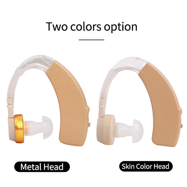 Cofoe A Pair Hearing aid Mini Rechargeable BTE Hearing aids Sound Amplifier USB Hearing Amplifier For The Elderly Both Ears Hear 5