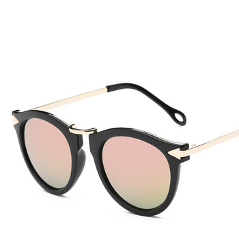 XaYbZc Cat Eye Sunglasses Women Luxury Brand Arrow Sun Glasses Vintage Shades For Woman Sunglass Ladies Flowers Sunglases 8