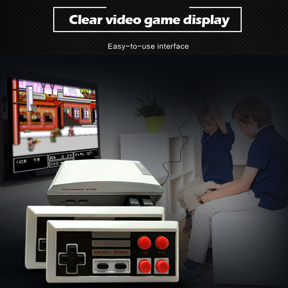 Built-In 500 620 Games Mini TV Game Console 8 Bit Retro Classic Handheld Gaming Player AV/HDMI Output Video Game Console Toy