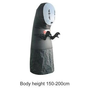 Image 2 - Disfraces inflables sin rostro para hombre y mujer, Cosplay para adulto, mujer, Halloween, actuación de fiesta, Club, disfraces inflables