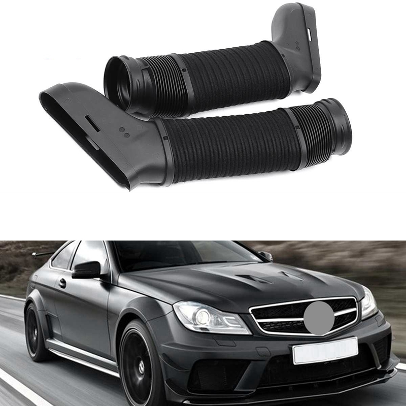 New 1 Set Left /& Right Side Air Intake Duct Hose for Mercedes W164 ML350 GL450