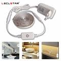 5M LED-licht Streifen Wasserdichte 2835 Band Led-streifen Dimmbare Touch Sensor Schalter 12V Netzteil Für Unter schrank Küche Lampe