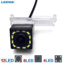 LEEWA HD widok z tyłu samochodu kamera cofania z LED dla Peugeot 301/308/408/508/C5/3008//307(Hatchback)/307CC (13 ~ 15) # CA3179