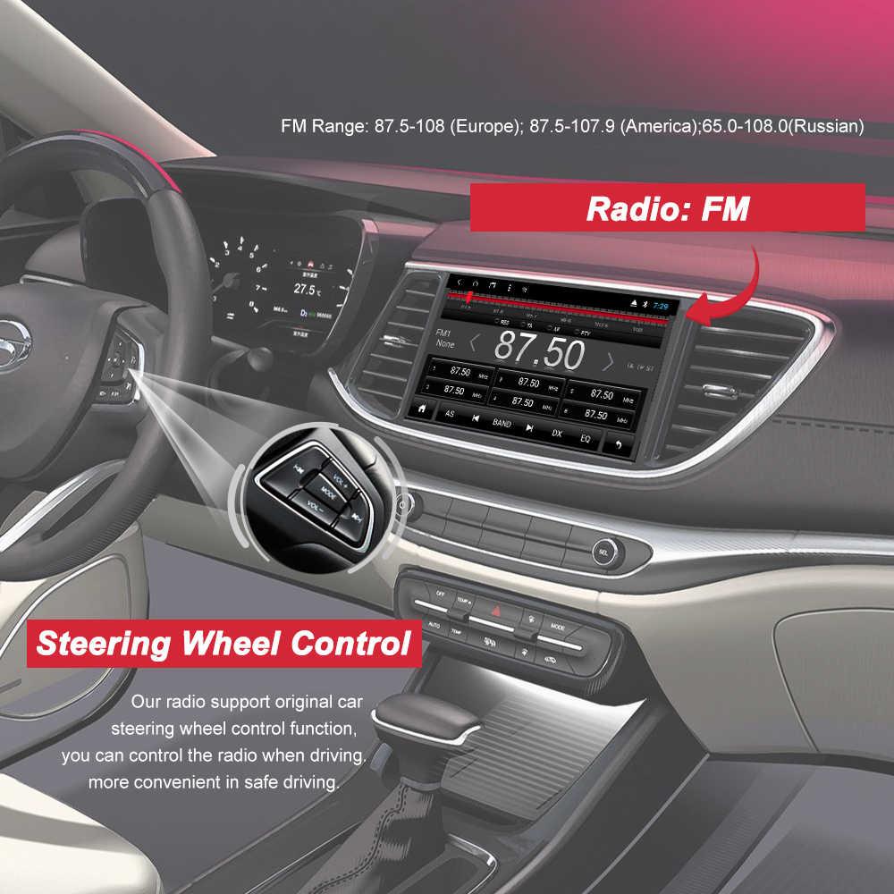 Bonroad 9 polegada android 8.1 tela de toque completa carro multimídia reprodutor sistema carro dvd gps rádio navigationfor tiguan 2010-2018