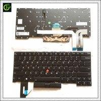 Teclado retroiluminado inglês para lenovo thinkpad t490s t495s sn20s33944 02hm352 02hm388 us|ru keyboard|dns keyboard|keyboard keyboard -