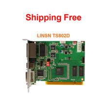Linsn ts802d nova msd300 colorlight s2 full color led sending card in stage rental led cabinet outdoor