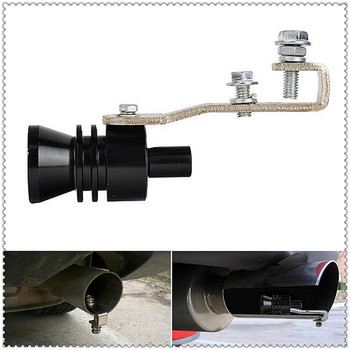 Car Sound Exhaust Muffler tail Whistle Simulator Accessories for BMW E34 F10 F20 E92 E38 E91 E53 E70 X5 M M3 E46 E39 E38 E90 image