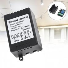 DC12V 433MHz Universal Wireless Remote Control Switch 1CH Relay Receiving Module for RF 433 Mhz New Style