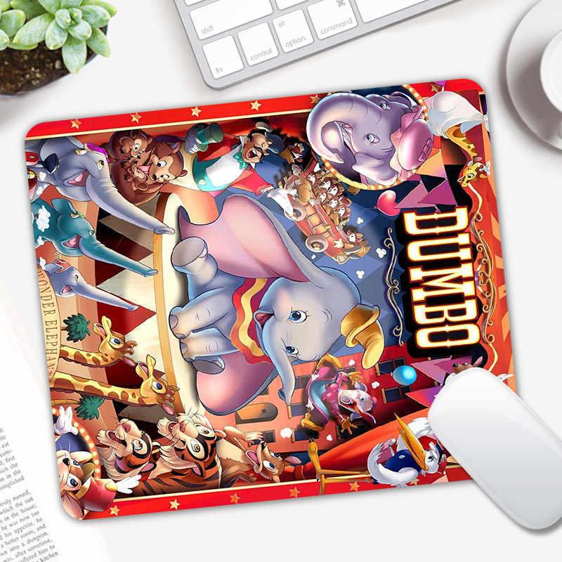 24X20 Cm Gajah Dumbo Gaming Mouse Pad Computer Game Keyboard Mouse Mat Meja Mousepad untuk PC