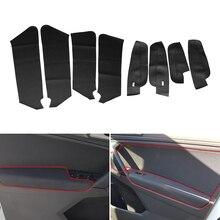 Cover Vw Tiguan Door-Armrest-Panel Car-Interior Trim for 8pcs Microfiber
