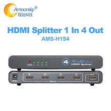 4K HDMI-Compatible Splicer Switch 1x4 Adapter 1 in 4 Out HDMI1.4 Converter Switcher Adapter For PS5 PS4 HD TV BOX 4K HD Switch
