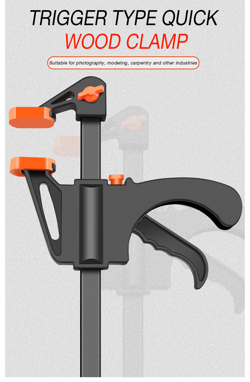 Trigger Type Quick Wood clamp