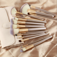 24 Persian Hair Beige White Makeup Brush Champagne Color Brush Handle Makeup Brush Set Non Logo a Generation of Fat