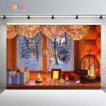 Фотофон yeele с рождеством свечи подарки Декорации для студийной
