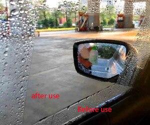 Image 2 - 2PCS/Set for car Waterproof Rainproof Anti Fog Car Sticker Car Mirror Window Clear Film Anti  Car car accessories