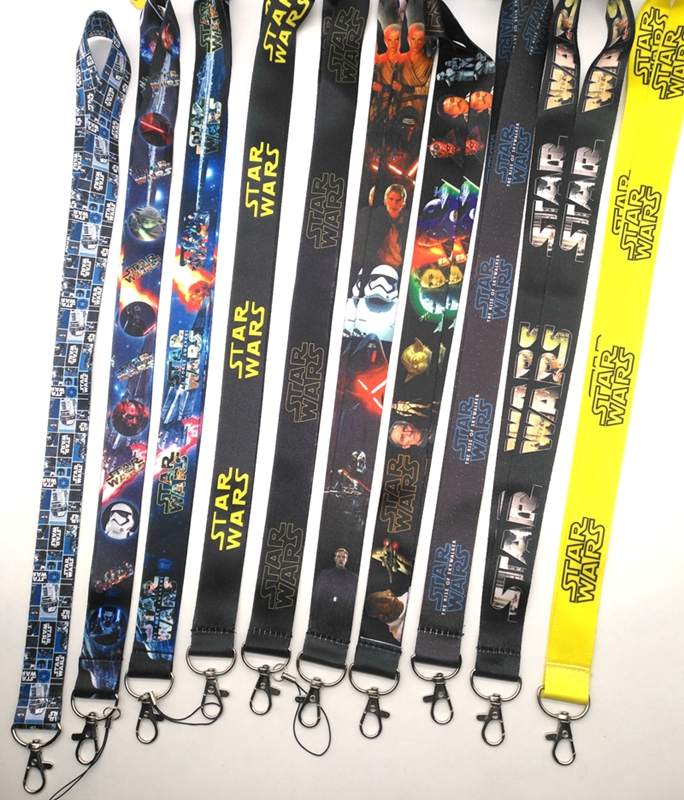 1 Pcs  STAR WARS  Key Chains  Neck Strap Keys Camera ID Card Lanyard  Z04