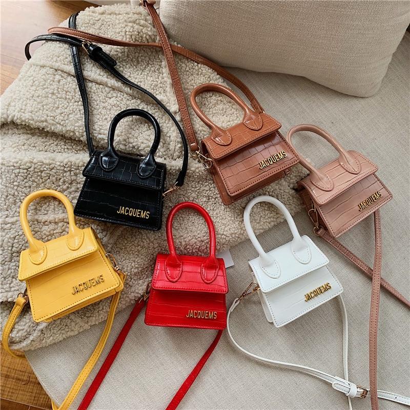 Women Handbag Jacquemus Famous Brand Lady Luxury Handbags For Girls Crossbody Bags Women 2019 Messenger Bags Small Tote Bag
