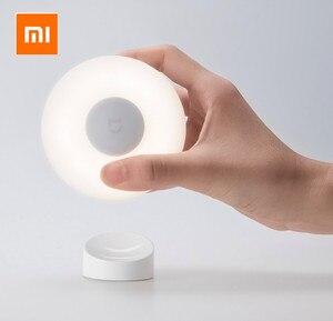 Image 4 - 2020New Xiaomi Mijia MJYD02YL Nachtlampje 2 Generatie Verstelbare Helderheid Infrarood Smart Menselijk Lichaam Sensor Met Magnetische Voet