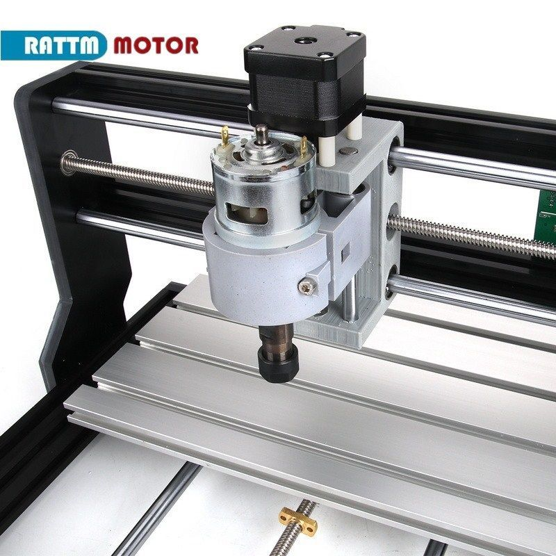 Image 2 - CNC 3018 Pro GRBL Control 3 Axis DIY Mini Machine Pcb Pvc Laser Engraving Milling Machine Wood RouterWoodworking Machinery Parts   -