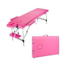 "Portable Massage Table 60""L, 2 Section Facial SPA Professional Massage Bed, Flex-Rest"