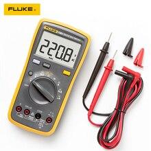 Fluke multímetro Digital automático 15B +/17B +/18B +/12E + Plus, probador de corriente de voltaje DMM AC/DC/diodo/R/C, Original